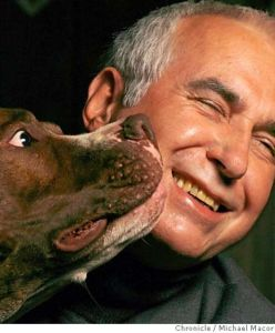 Ian Dunbar w/ his dog Dune